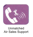 unmatched air sales support