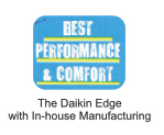the daikin edge with in-house manufacturing